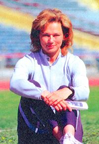 Ольга Котлярова, пятикратная чемпионка мира по легкой атлетике, заслуженный мастер спорта России